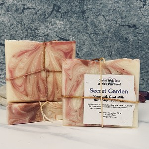 Secret Garden Scented Soap with Goat Milk