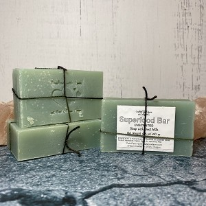 Superfood Unscented Soap with Goat Milk