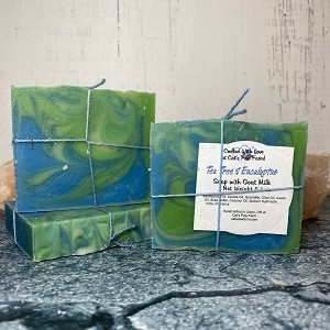 Eucalyptus Tea Tree Scented Soap with Goat Milk