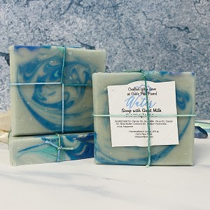 Water Scented Soap with Goat Milk