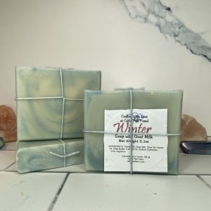 Winter Scented Soap with Goat Milk
