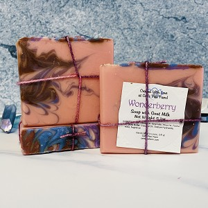 Wonderberry Scented Soap with Goat Milk