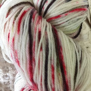 Poinsettia Fingering Handpaints Yarn